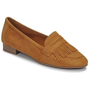 鞋子 女士 皮便鞋 André BARCELONA 黄色