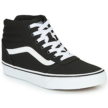鞋子 女士 高帮鞋 Vans 范斯 WARD HI 黑色