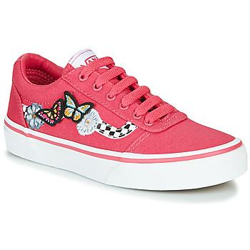 鞋子 女孩 球鞋基本款 Vans 范斯 WARD 玫瑰色