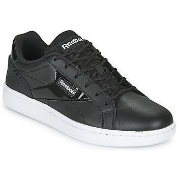 鞋子 女士 球鞋基本款 Reebok Classic REEBOK ROYAL CMPLT CLN LX 黑色 / 白色 / 白色