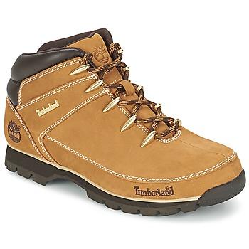 鞋子 男士 短筒靴 Timberland 添柏岚 EURO SPRINT HIKER 黄色