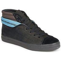鞋子 男士 高帮鞋 Bikkembergs PLUS MID SUEDE 黑色