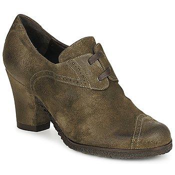 鞋子 女士 短靴 Audley 澳德利 RINO LACE 灰褐色