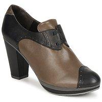 鞋子 女士 短靴 Audley 澳德利 GETA LACE 棕色