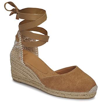 鞋子 女士 凉鞋 Castaner CARINA 驼色