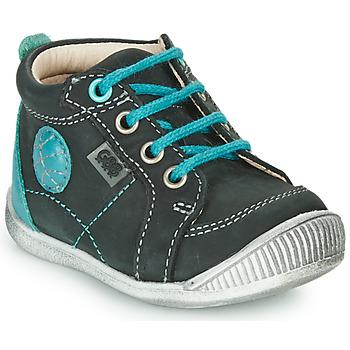 鞋子 男孩 短筒靴 GBB OLAN 黑色 / 蓝色