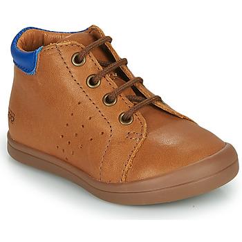 鞋子 男孩 短筒靴 GBB TIDO 棕色