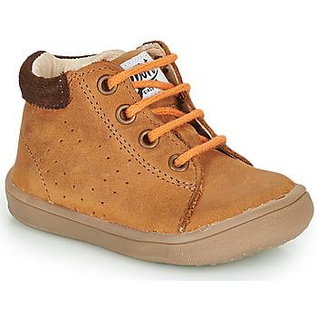 鞋子 男孩 短筒靴 GBB FOLLIO 棕色