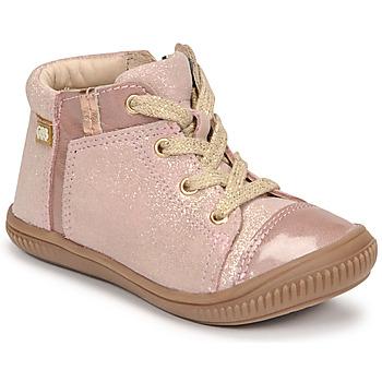 鞋子 女孩 高帮鞋 GBB OUNA 玫瑰色