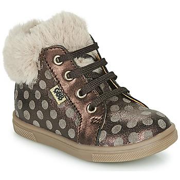 鞋子 女孩 高帮鞋 GBB JUNA 棕色
