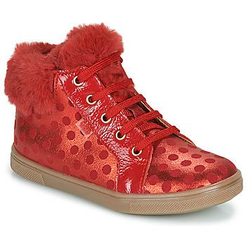 鞋子 女孩 高帮鞋 GBB JUNA 红色