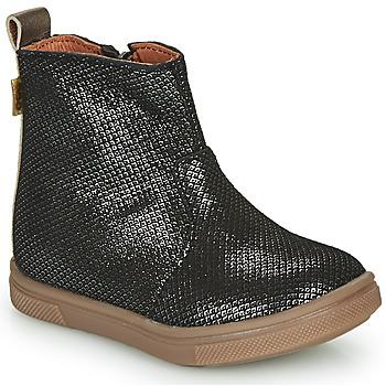 鞋子 女孩 短筒靴 GBB ERNA 黑色