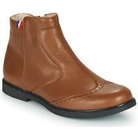 鞋子 女孩 短筒靴 GBB NOUGATINE 棕色