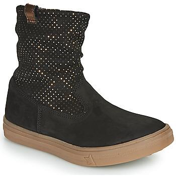 鞋子 女孩 都市靴 GBB KINGA 黑色