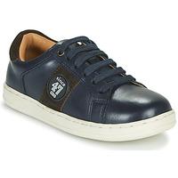 鞋子 男孩 球鞋基本款 GBB MIRZO 蓝色