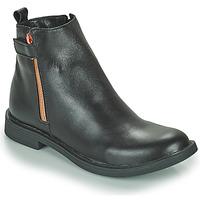 鞋子 女孩 短筒靴 GBB XIANA 黑色