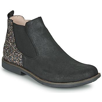 鞋子 女孩 短筒靴 GBB NAKOVO 黑色
