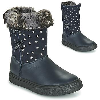 鞋子 女孩 都市靴 GBB OLINETTE 海蓝色