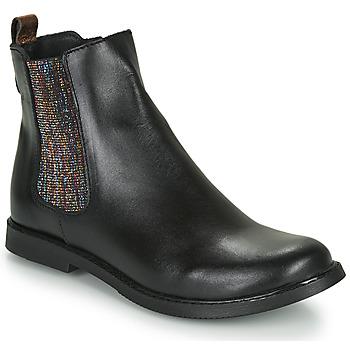 鞋子 女孩 短筒靴 GBB ARANA 黑色
