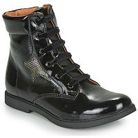 鞋子 女孩 短筒靴 GBB JAMILA 黑色
