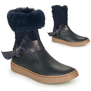 鞋子 女孩 都市靴 GBB EVELINA 海蓝色