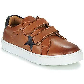 鞋子 男孩 球鞋基本款 GBB DANAY 棕色