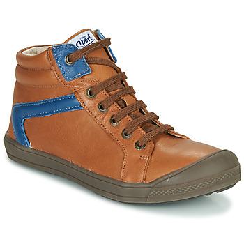 鞋子 男孩 高帮鞋 GBB IWEN 棕色