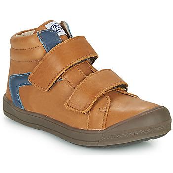 鞋子 男孩 高帮鞋 GBB KOLAN 棕色