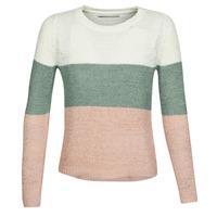 衣服 女士 羊毛衫 Only ONLGEENA 米色 / 玫瑰色