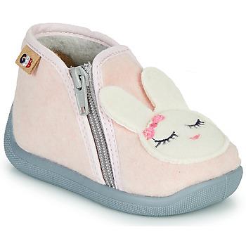 鞋子 女孩 拖鞋 GBB CORI 玫瑰色