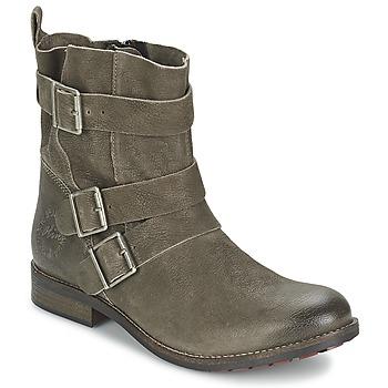 鞋子 女士 短筒靴 S.Oliver BEXUNE 棕色