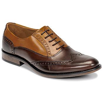 鞋子 男士 系带短筒靴 André BIBRIDGE 棕色