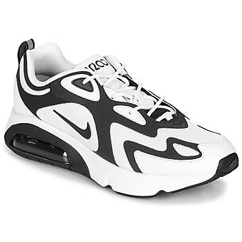 鞋子 男士 球鞋基本款 Nike 耐克 AIR MAX 200 白色 / 黑色