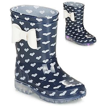 鞋子 女孩 雨靴 Be Only AMOUR FLASH 海蓝色