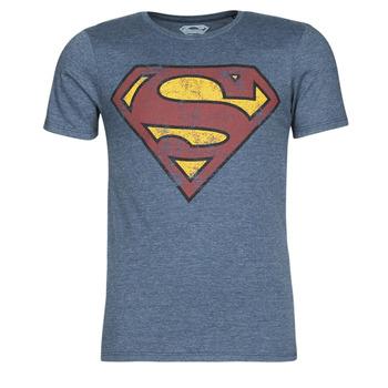 衣服 男士 短袖体恤 Casual Attitude SUPERMAN LOGO VINTAGE 海蓝色
