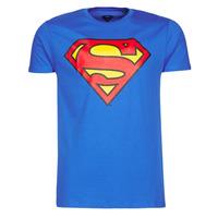 衣服 男士 短袖体恤 Casual Attitude SUPERMAN LOGO CLASSIC 蓝色