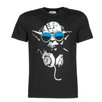衣服 男士 短袖体恤 Yurban DJ YODA COOL 黑色