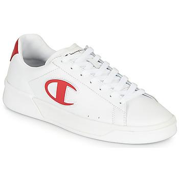 鞋子 男士 球鞋基本款 Champion M 979 LOW 白色 / 红色