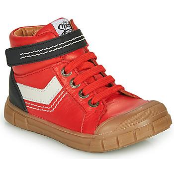 鞋子 男孩 高帮鞋 GBB BAO 红色
