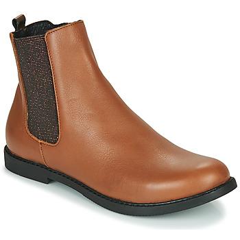 鞋子 女孩 短筒靴 GBB ARANA 棕色
