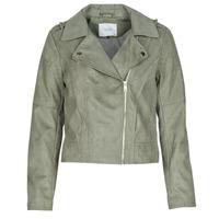 衣服 女士 皮夹克/ 人造皮革夹克 JDY JDYPEACH 灰色