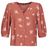 衣服 女士 衬衣/长袖衬衫 Vero Moda VMJILLEY 波尔多红