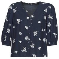 衣服 女士 衬衣/长袖衬衫 Vero Moda VMJILLEY 海蓝色