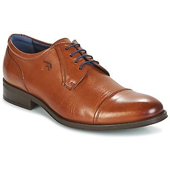 鞋子 男士 德比 Fluchos 富乐驰 HERACLES 棕色