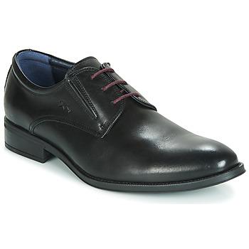 鞋子 男士 德比 Fluchos 富乐驰 HERACLES 黑色