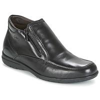 鞋子 男士 短筒靴 Fluchos 富乐驰 LUCA 黑色