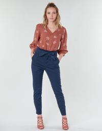 衣服 女士 多口袋裤子 Vero Moda VMEVA 海蓝色