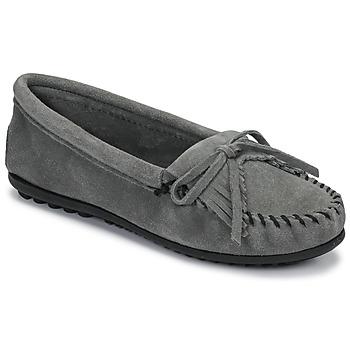 鞋子 女士 皮便鞋 Minnetonka KILTY 灰色