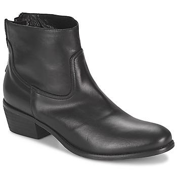 鞋子 女士 短筒靴 Meline SOFMET 黑色