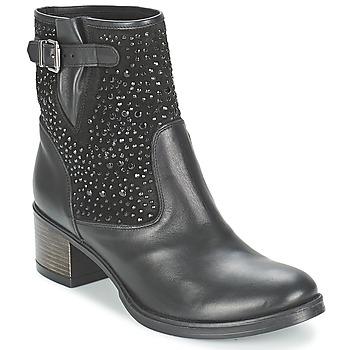 鞋子 女士 短靴 Meline NERCRO 黑色